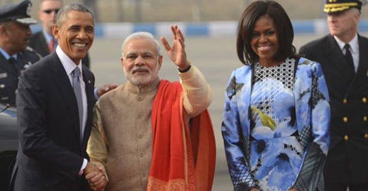 Photo #1 - America - Samakaalikam - obama_indian_visit_us_media