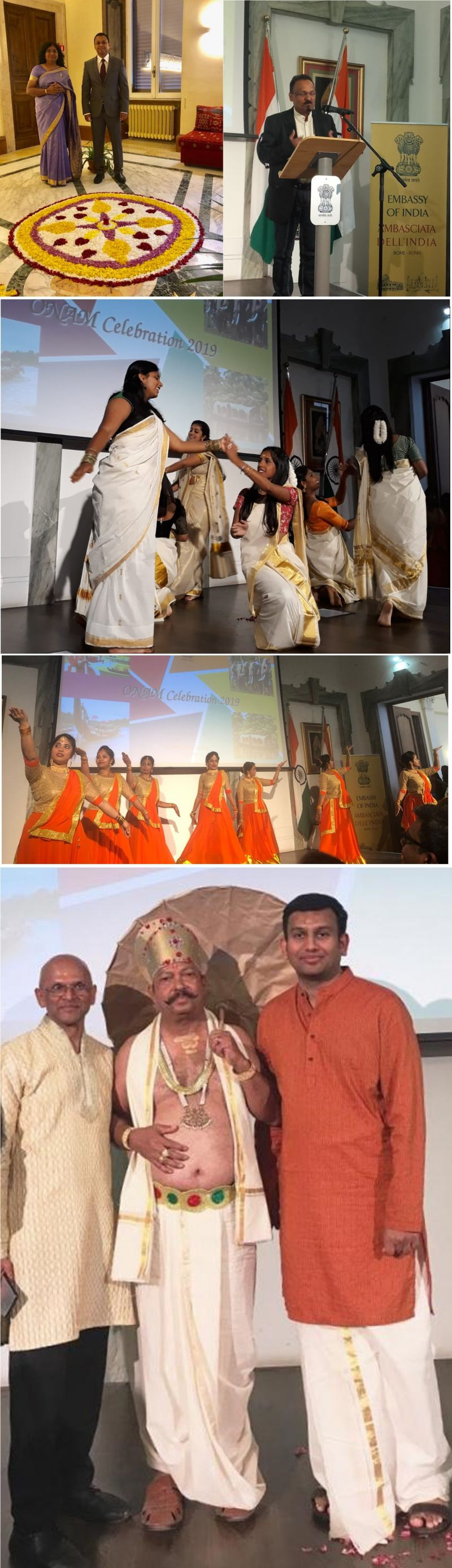 Photo #2 - Europe - Otta Nottathil - onam_indian_embassy_italy